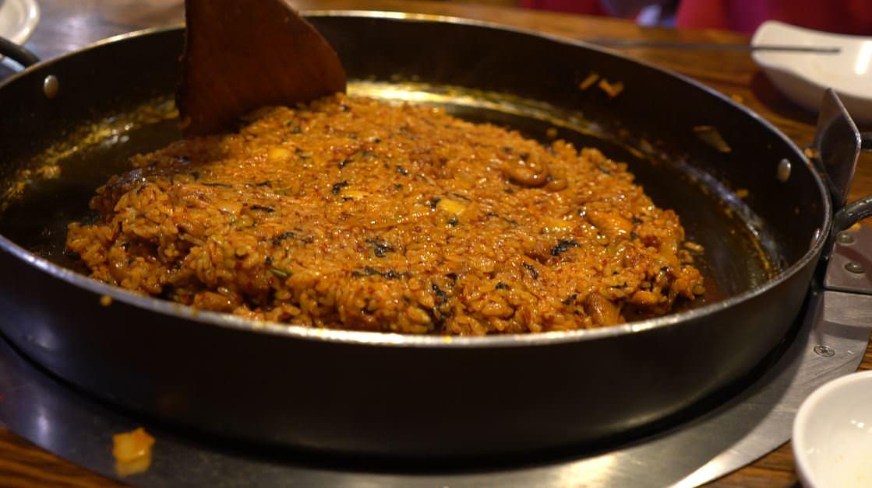 la riquísima comida coreana