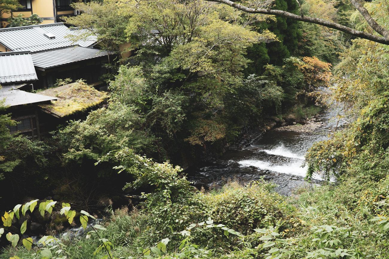 Kurokawa onsen, un pueblo onsen