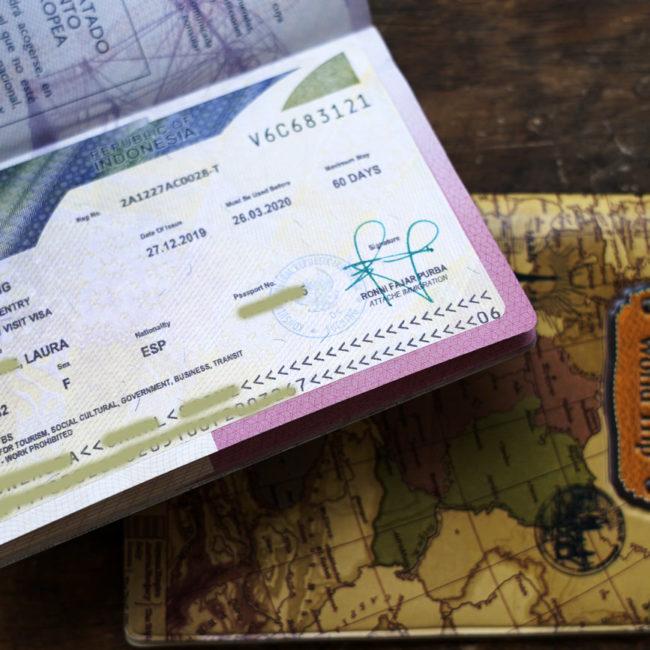 Cómo sacar visa indonesia